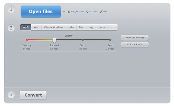 Convert Audio to MP3 with the Online Audio Converter