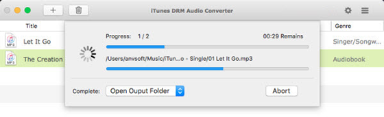 Get Rid of DRM in iTunes or Apple Music Songs