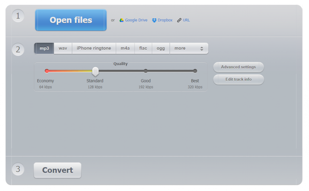 Online FLAC to MP3 Converter