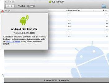 Use File Transfer for Android Documents Syncing