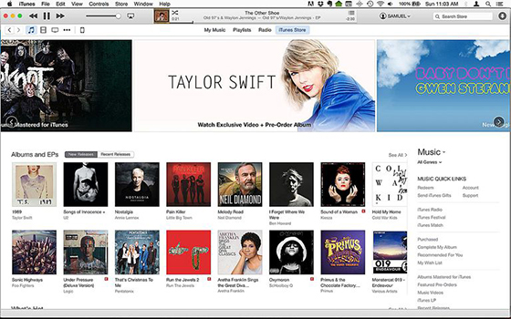 Steps to Buy Music from iTunes Store