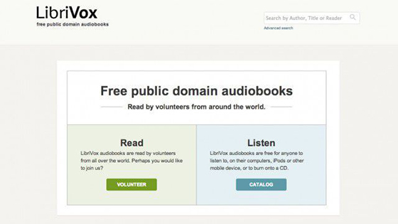 Best sites to download free audiobooks.